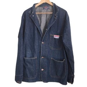 Vintage Big B Jean Jacket Size 38 Made in Canada